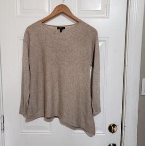 Eileen fisher merino wool mix crew neck sweater